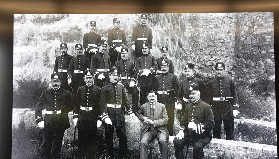 Els primers agents de la guàrdia urbana de Tarragona