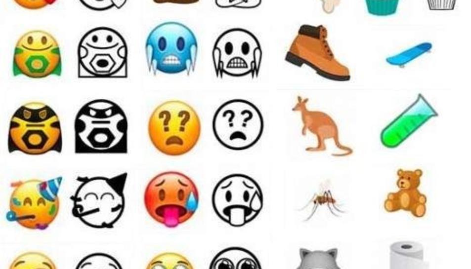 Whatsapp avança les noves emoticones per 2018
