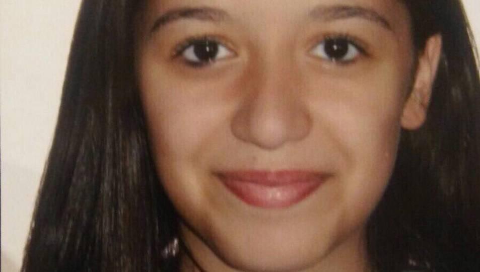 Imatge de la noia desapareguda el 12 de desembre del 2017