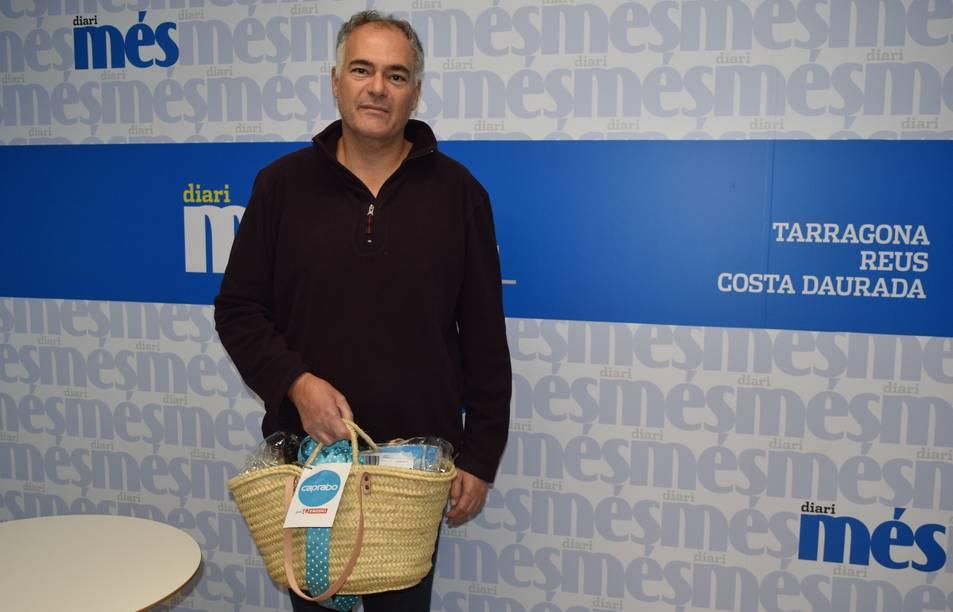 Rafael Carmona, guanyador de la cistella.