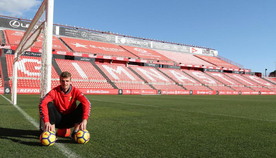 Manu Barreiro va anotar dues de les tres dianes que li van donar la victòria al Nàstic aquest dissabte a l'Estadi de Vallecas contra el Rayo Vallecano (2-3).