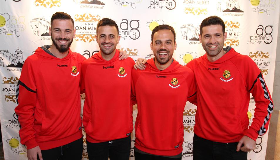 El Nàstic presenta a Matilla, Arzo, Javi Márquez i Álvaro Vázquez (1)