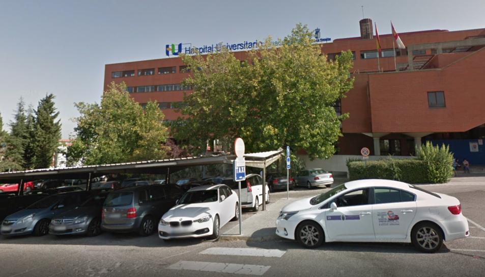 El noi ha estat traslladat a l'hospital de Guadalajara.
