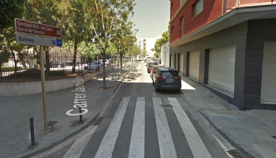 Els fets van succeir al carrer Jaume Balmes.