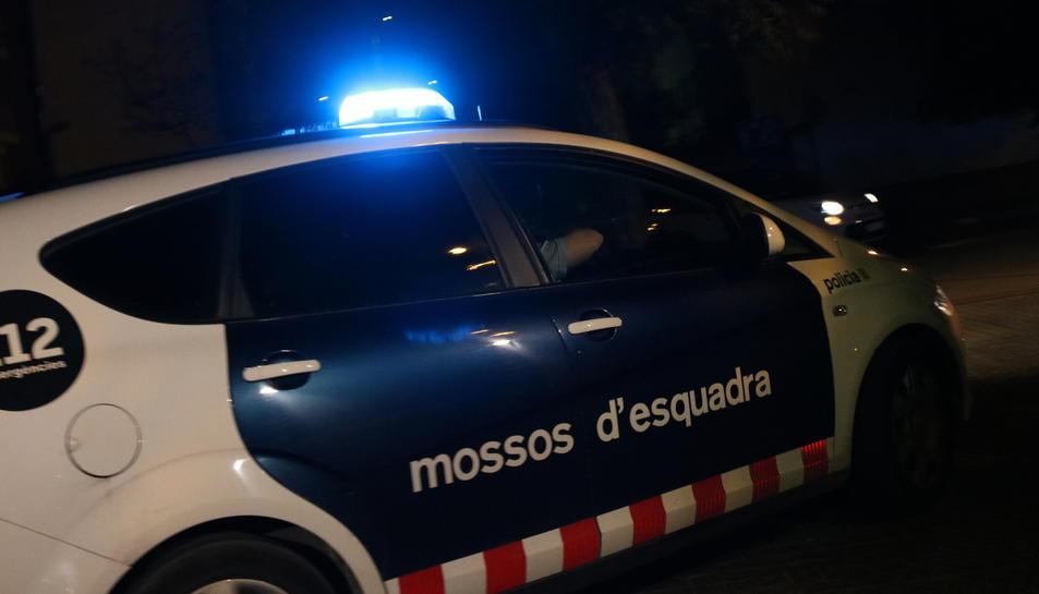 Una imatge d'arxiu d'un cotxe dels mossos d'Esquadra.