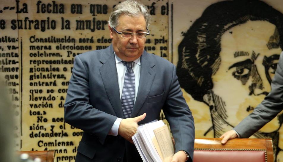 Imatge del ministre d'Interior, Juan Ignacio Zoido.