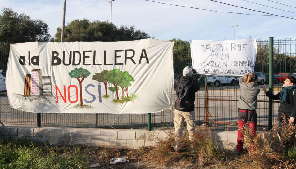 Els veïns s'han mostrat en diverses ocasions en contra al projecte de la Budellera.
