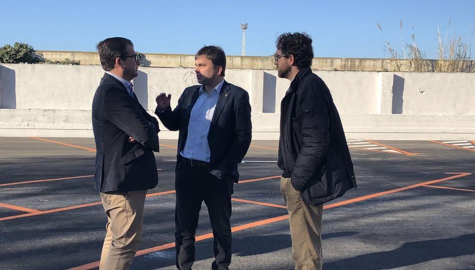 Inaugurat i en marxa el nou aparcamentdissuasiu del Passeig de la Independència