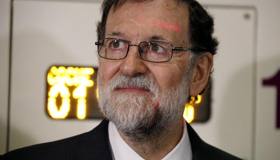 Imatge del president del Govern, Mariano Rajoy.