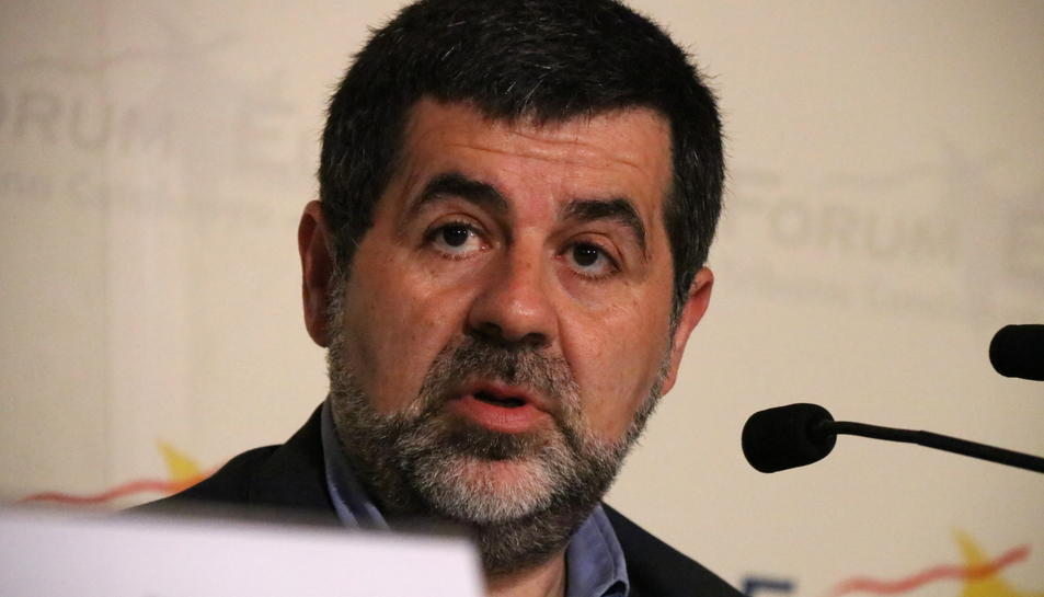 El president de l'ANC, Jordi Sànchez.