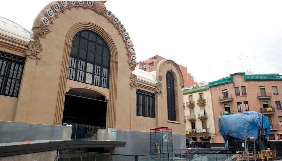 Façana del Mercat de Tarragona.