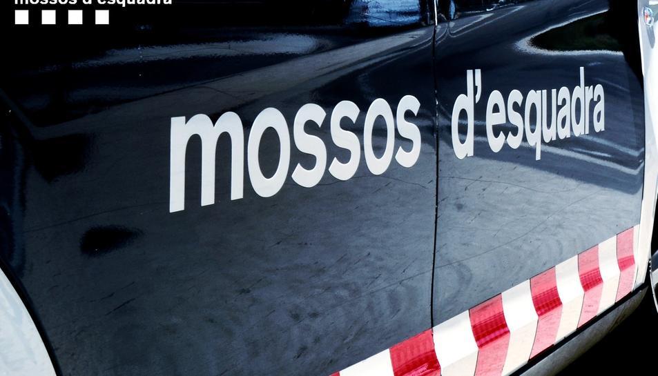 Imatge d'un vehicle dels Mossos d'Esquadra.