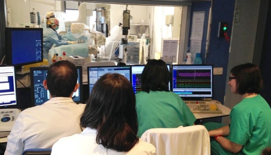 El centre va fer un miler d'angioplàsties l'any 2017 i va tenir 520 activacions de codi infart, 50 més que l'any anterior