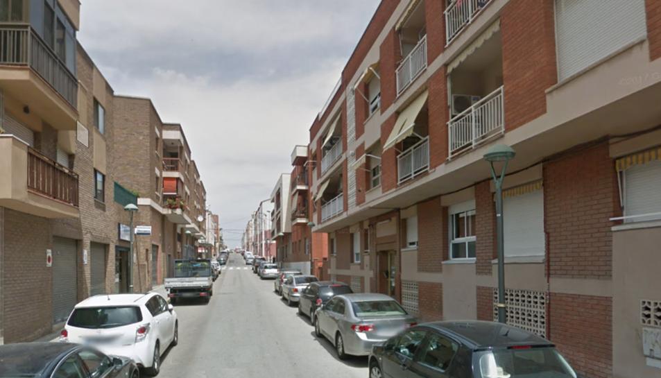 Imatge del carrer Tortosa, on està ubicat
