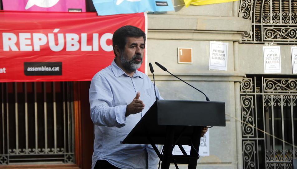 El número dos de Junts per Catalunya, Jordi Sànchez.