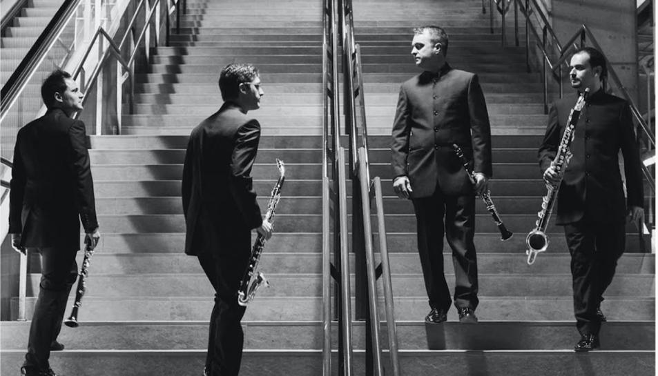 Els Barcelona Clarinet Players presenten l'obra de Joan Vidal, acompanyats de Marc Mezquida.