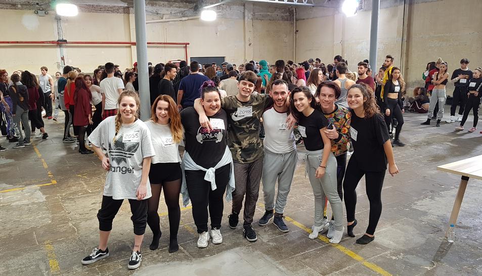 Vuit nois i noies del Camp de Tarragona es van presentar al càsting.