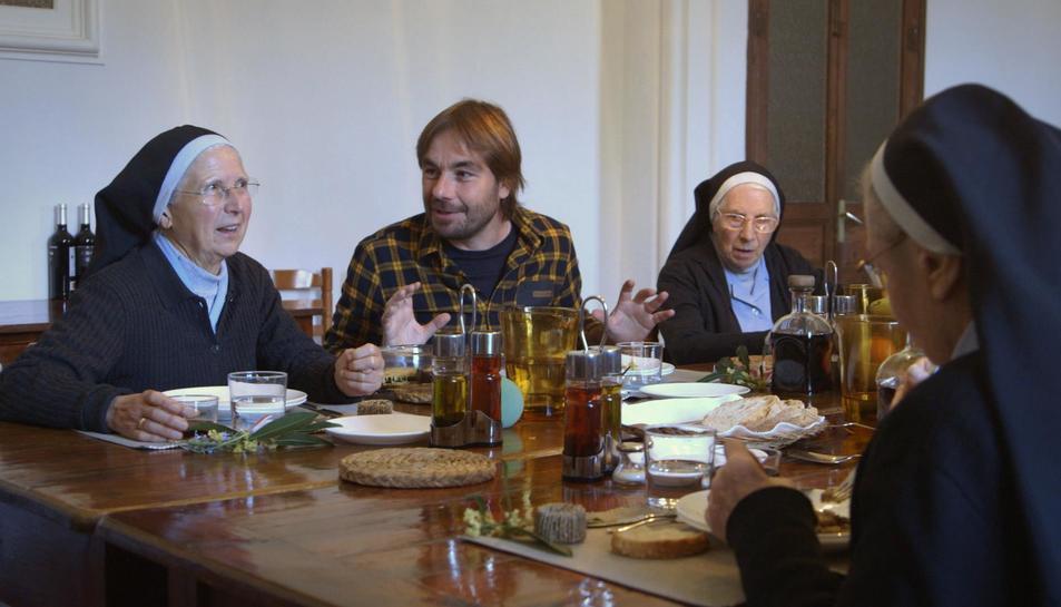 Imatge del programa d'ahir dedicat al monestir de Sant Daniel de Girona.