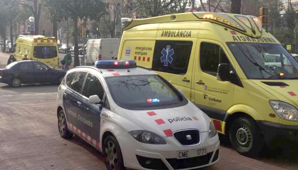 L'accident s'ha produït a la T-2031,a la rotonda d'entrada a Sant Pere i Sant Pau.