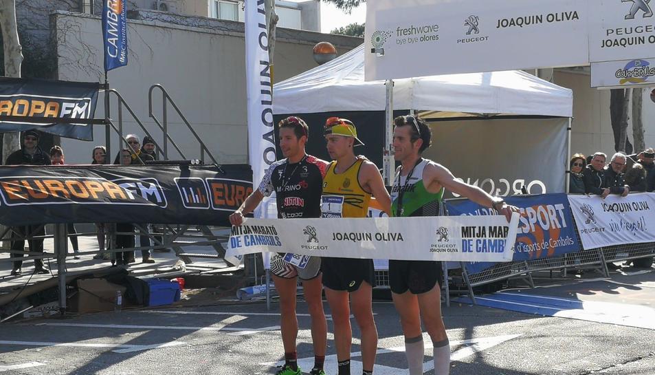 Todas las imágenes del medio maratón de Cambrils