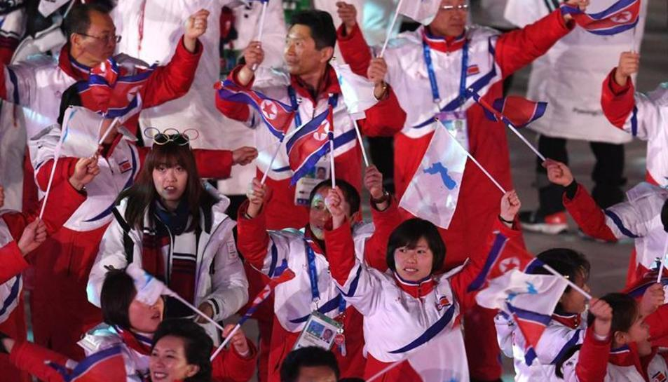 Clausura  dels Jocs de Pyeongchang amb un apropament entre les dues Corees