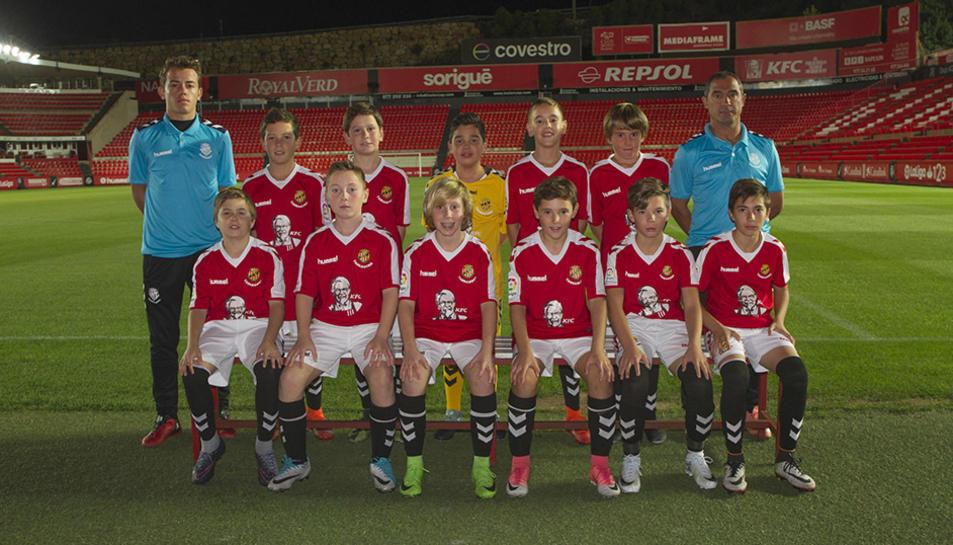 Els equips de futbol base del Nàstic (1)