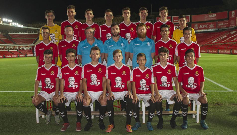 Els equips de futbol base del Nàstic (2)