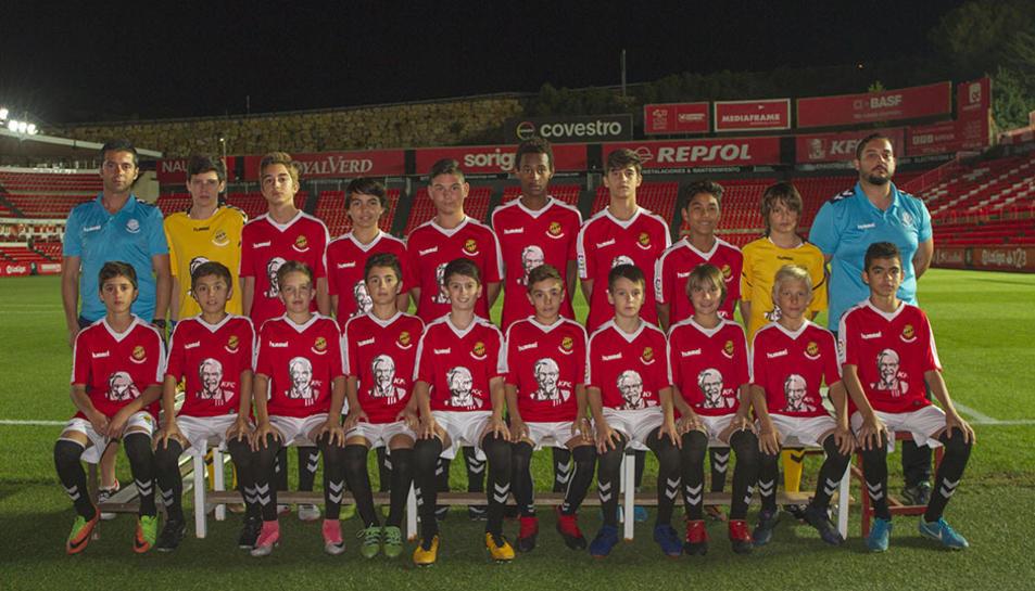 Els equips de futbol base del Nàstic (3)