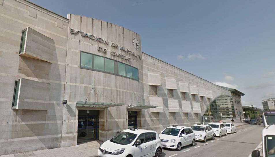 Imatge d'arxiu de l'estació d'autobusos d'Oviedo.