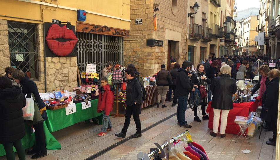 Els comerços s'instal·laran a la plaça i al carrer Major de Montblanc.