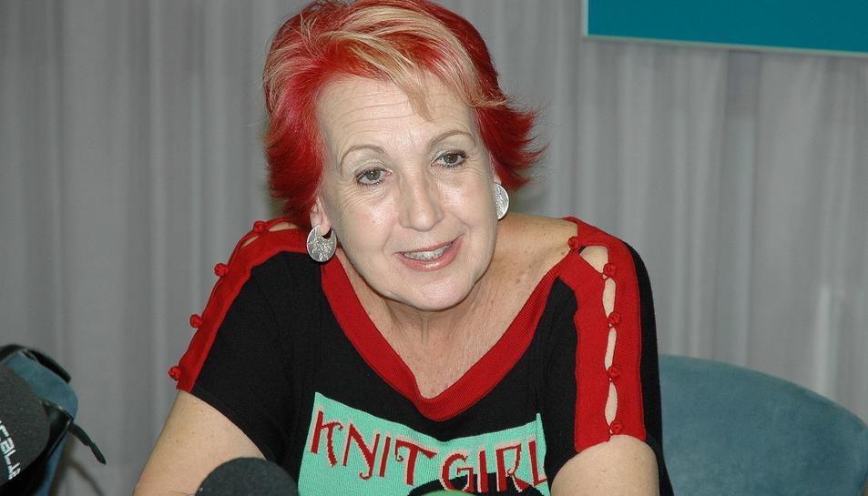 Rosa Maria Calaf, corresponsal de TVE, amb 26 anys de carrera a l'exterior.