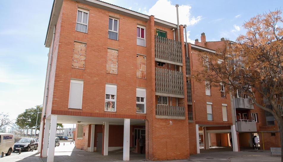 Un dels edificis on darrerament s'han donat casos d'ocupacions.