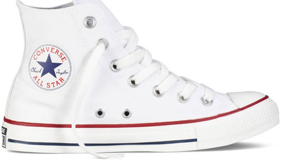 Les converse de moda són les de color blanc.