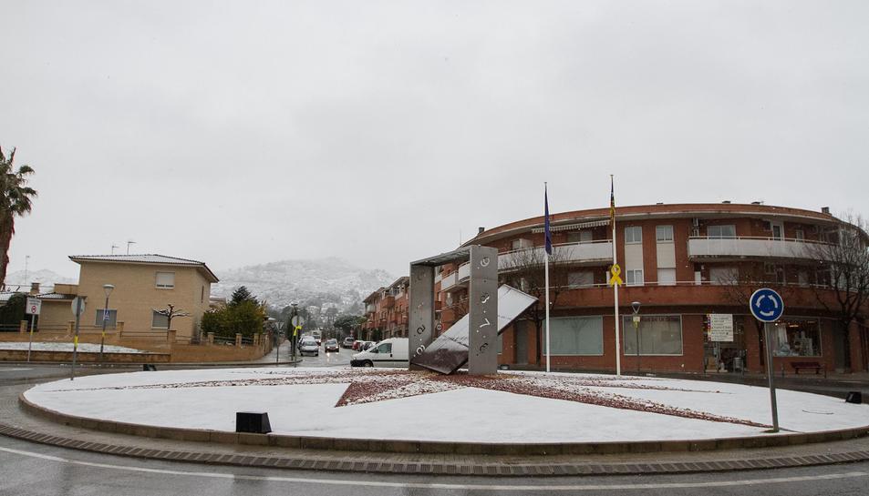 La Selva de Camp  és un dels municipis on la neu va agafar.