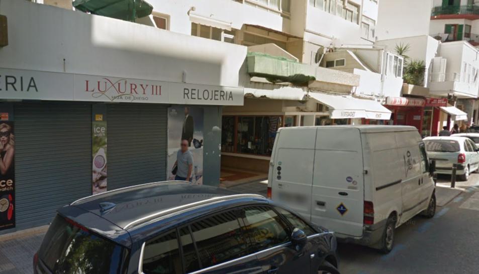 Imatge de l'establiment on va acudir la víctima després d'escapar de casa seva.