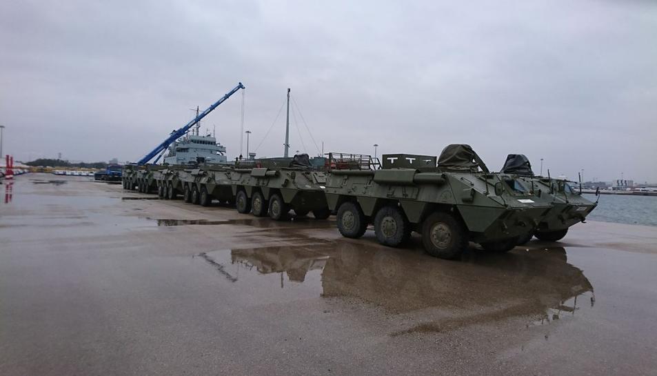 Aquests són alguns dels vehicles que hi ha a Tarragona.