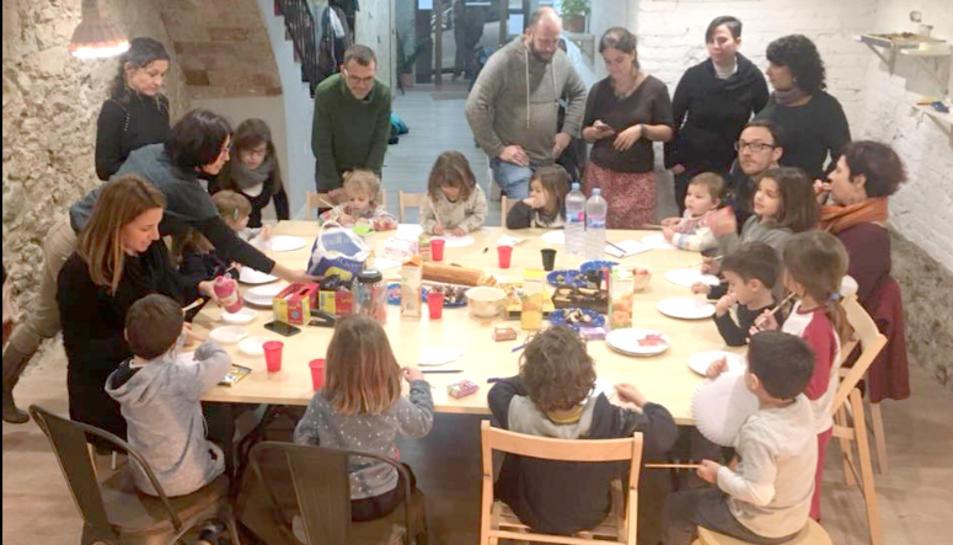 Les activitats estan pensades per a famílias amb nens.