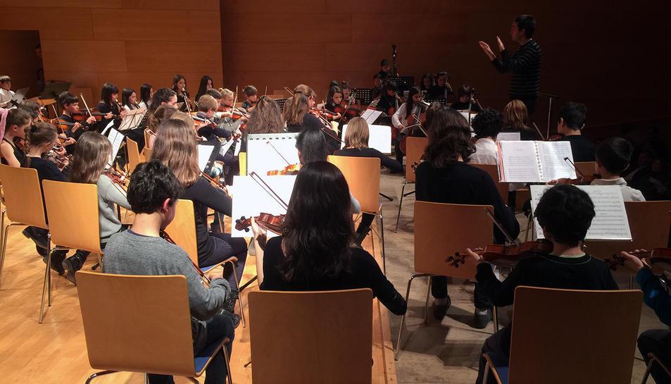 En la trobada es reuniran joves provinents de diverses escoles i conservatoris de música del Camp de Tarragona i de les Terres de l'Ebre.