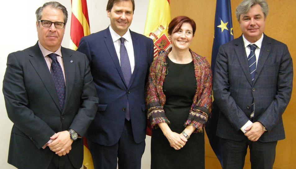 L'acte s'ha celebrat a la seu de la subdelegació del Govern a Tarragona.
