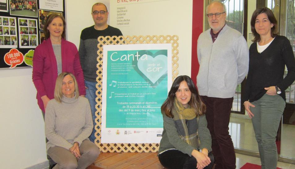 'Canta amb el cor' és una iniciativa del CNL de Reus i compta amb 'apadrinament de l'Orfeó Reusenc.