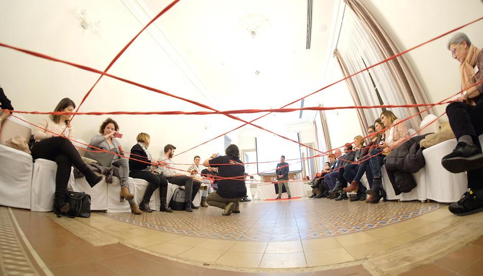 Un instant de la presentació de l'edició d'enguany del TEDxTarragona.