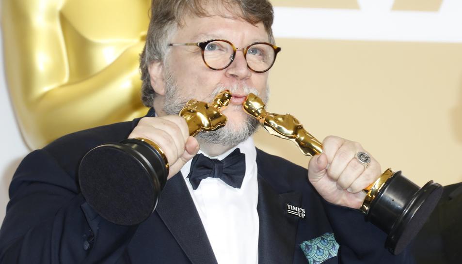 Guillermo del Toro, guanyador de l'Òscar al millor director per la pel·lícula 'La forma del agua'.