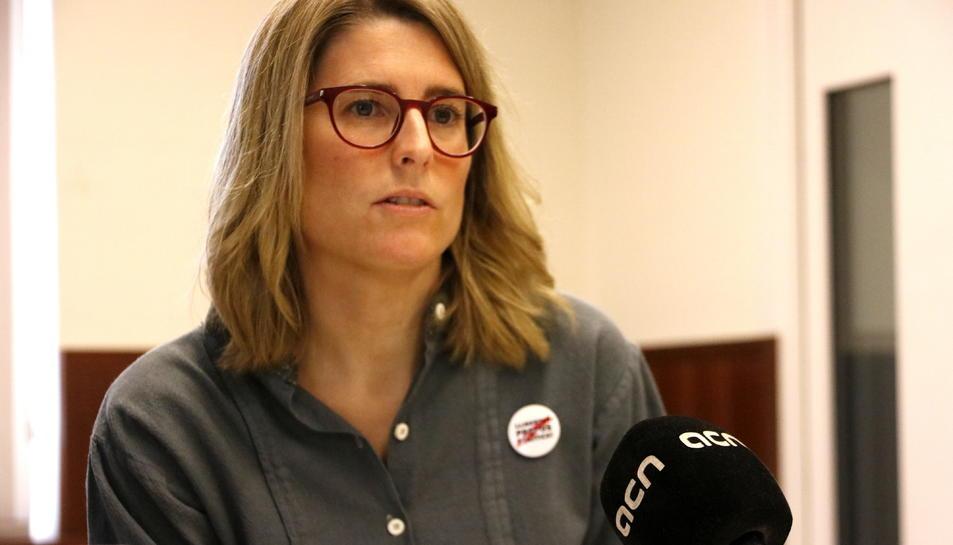 Imatge d'arxiu de la portaveu de JxCat, Elsa Artadi.
