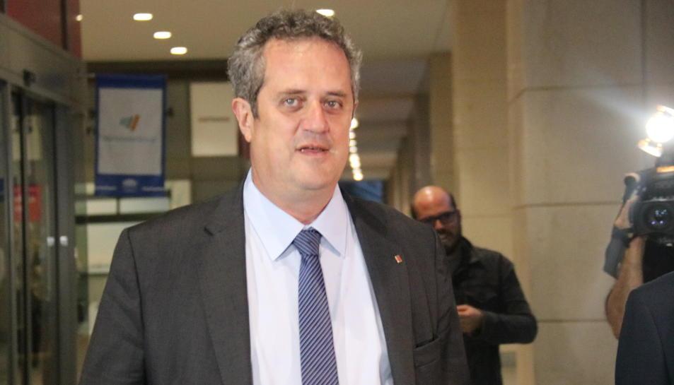 El conseller d'Interior, Joaquim Forn