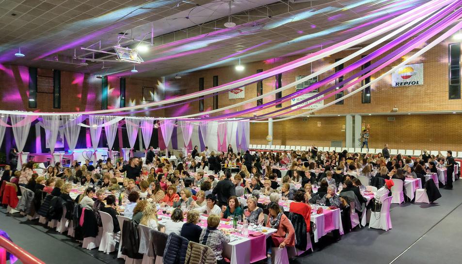Imatge de l'edició passada del Sopar de dones.