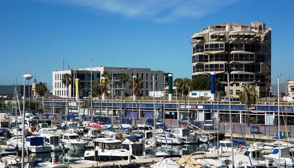 Imatge del Port Esportiu.