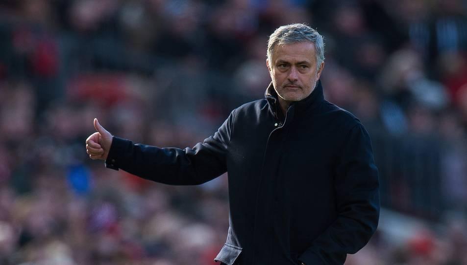 Mourinho és en l'actualitat l'entrenador del Manchester United.