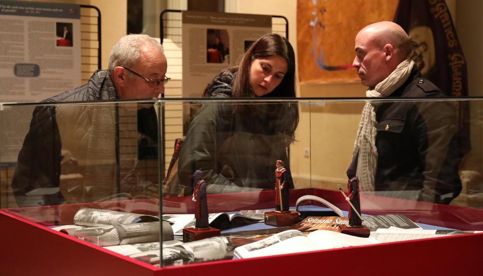 L'exposició de La Salle es pot visitar al Centre Cultural Tarraconense El Seminari.