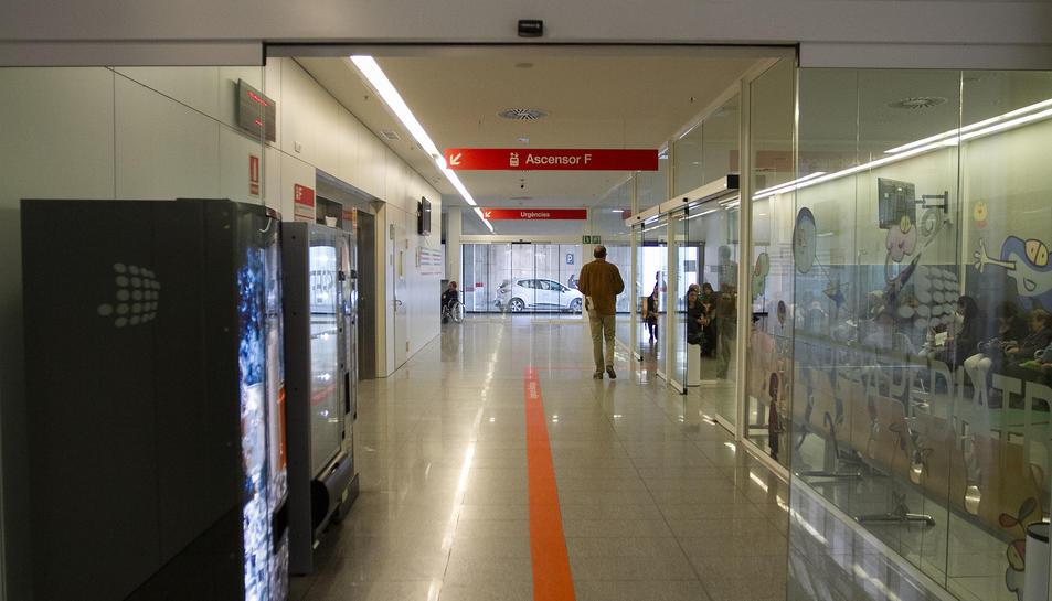 Una imatge d'arxiu de les instal·lacions de l'equipament sanitari.