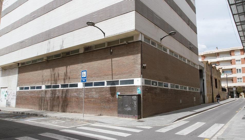 L'edifici de consultes externes de l'antic Hospital Sant Joan.